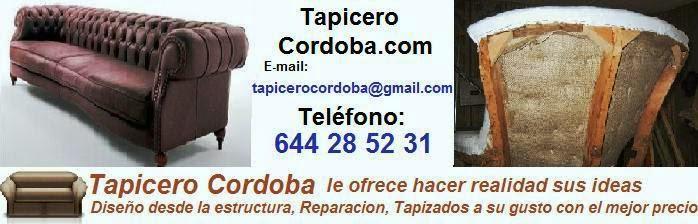 Tapicero cordoba restauracion muebles y madera for Tresillos baratos en madrid