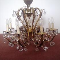 Vendo lámpara en bronce para techo